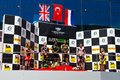 World supersport championship kenan sofuoglu sam lowes and michael van der mark in race in istanbul park on september in istanbul Stock Photos