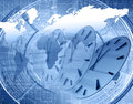 World and time Royalty Free Stock Photo
