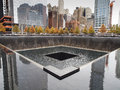 World Trade Center 9-11 Memorial Royalty Free Stock Photography