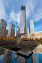 World trade center ground zero memorial at Royalty Free Stock Photos