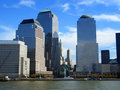 World Trade Center, Manhattan, New York Royalty Free Stock Photo