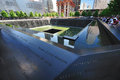 The World Trade Center memorial in New York City Royalty Free Stock Photo