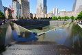 The World Trade Center memorial in New York City Stock Photos