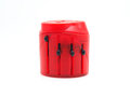 World travel adapter on white background Royalty Free Stock Images