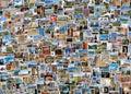 World travel collage Royalty Free Stock Photo