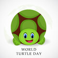 World Turtle Day Royalty Free Stock Photo