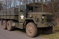 World War II Army Truck Royalty Free Stock Photo