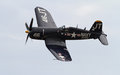 World War II Corsair Fighter Aircraft Royalty Free Stock Photo