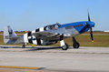 World War II era P-51C fighter plane Stock Photography