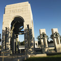 World War II Memorial Royalty Free Stock Photos