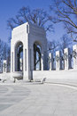 World War II Memorial Stock Photos