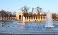 World War II Memorial Washington DC Royalty Free Stock Image