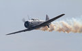World War II T-6 Texan Aircraft Royalty Free Stock Photos