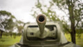World War II Tank turret Royalty Free Stock Photo