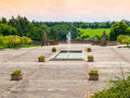 World War Memorial in Lidice Royalty Free Stock Photo