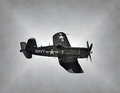 World War 2 Navy airplane Royalty Free Stock Photo