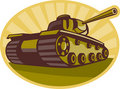 World war two battle tank Stock Photos