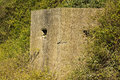 World war two pill box old ruin of a an allied bunker in the uk commonly called a pillbox Stock Photo