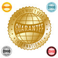 World wide 1year guarantee Royalty Free Stock Photography