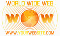 World wide web template Royalty Free Stock Photo