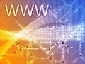 World Wide Webabbildung Lizenzfreies Stockbild