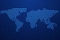 Worldmap template vector