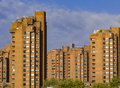 Worlds end estate view from battersea bridge on Royalty Free Stock Image