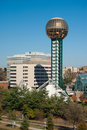 Worlds Fair park Stock Photo