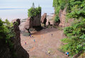 Worlds highest tides location of the in the bay of fundy Stock Photos