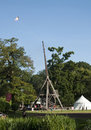 The worlds Largest medeival trebuchet Royalty Free Stock Photo