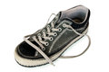 Worn shoe Royalty Free Stock Images