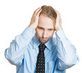 Worried man Royalty Free Stock Photo