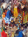 Worry beads colorful komboloi for sale in plaka athens greece Royalty Free Stock Photos