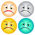 Worry faces Royalty Free Stock Images