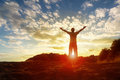 Worship and praise Royalty Free Stock Photo