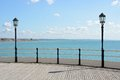 Worthing pier and seafront. England Royalty Free Stock Photo