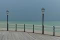 Worthing Pier. Royalty Free Stock Photo
