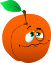 Wounded peach vector style illustrated vector format is available Stock Photography