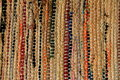 Woven area rug Royalty Free Stock Photo