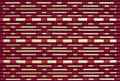 Woven bamboo pattern Stock Photo