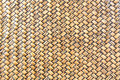 Woven bamboo texture Royalty Free Stock Photo