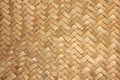 Woven bamboo from in thailand Royalty Free Stock Photo