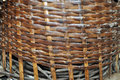 WOVEN BASKET Royalty Free Stock Photo