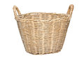 Woven Basket. Royalty Free Stock Photo