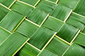 Woven coconut leaves texture Royalty Free Stock Image