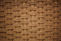 Woven coir background with vignette effect Royalty Free Stock Photos