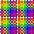Woven crisscross plaid pattern seamless Royalty Free Stock Photo
