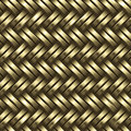 Woven gold background Royalty Free Stock Photo
