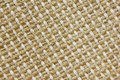 Woven jute fabric Royalty Free Stock Photo
