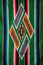Woven mexican sarape Stock Photo